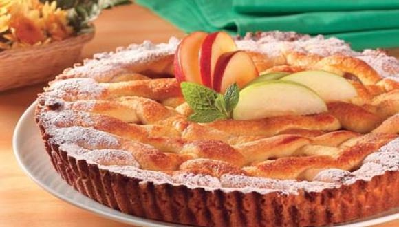 Frola de manzanas
