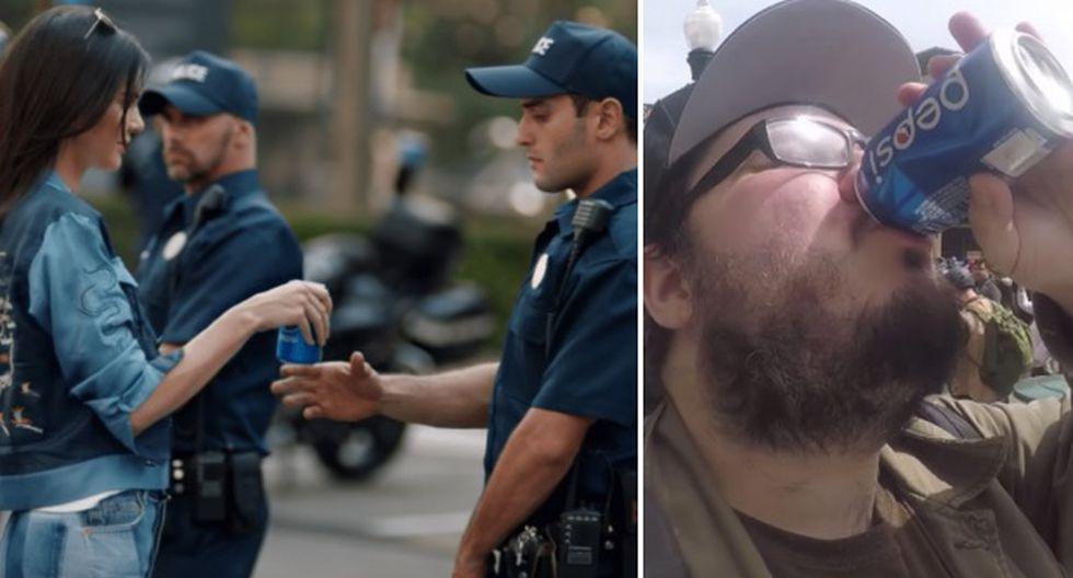 Quiso imitar anuncio de Pepsi y Kendall Jenner y le fue muy mal