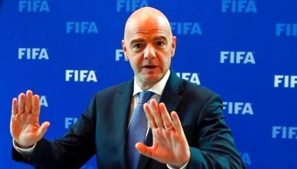 Gianni Infantino fue reelecto como presidente de la FIFA a mediados del año pasado. (Foto: Agencias).