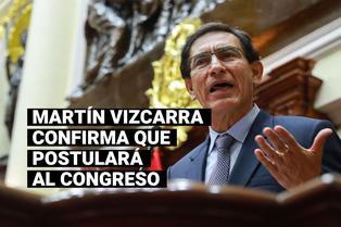 Martín Vizcarra confirma que postulará al Congreso de la República con Somos Perú