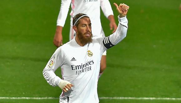Sergio Ramos todavía no define su futuro en el Real Madrid.(Foto: AFP)