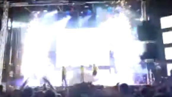 Joana Sáinz : Bailarina muere por un accidente de pirotecnia durante un espectáculo en España. Foto: Captura de video