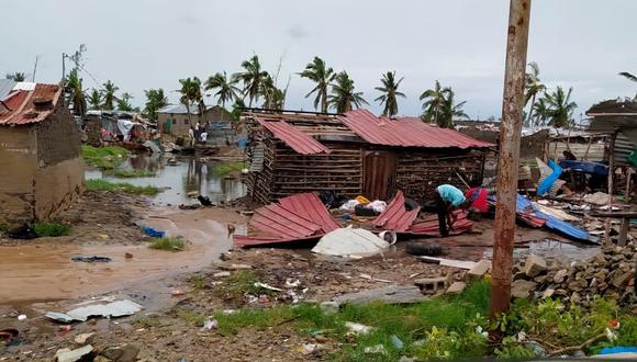 Los destrozos de Eloise en Mozambique. REUTERS