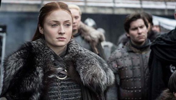"""""""Game of Thrones"""". Uno de los personajes que cobró protagonismo en esta última temporada fue Sansa Stark. (Foto: HBO)"""