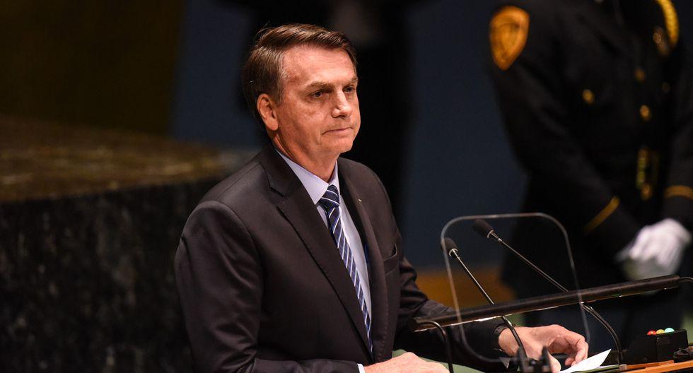 Jair Bolsonaro recibió duras críticas por parte de Greenpeace. (Foto: AFP)
