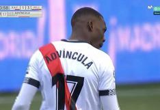 Luis Advíncula anotó golazo desde fuera del área en el Rayo Vallecano-Mallorca | VIDEO