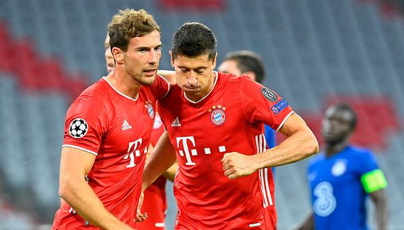 Bayern Munich golea 4-1 al Chelsea y clasifica a cuartos de final el próximo 14 de agosto. (Foto: AFP)