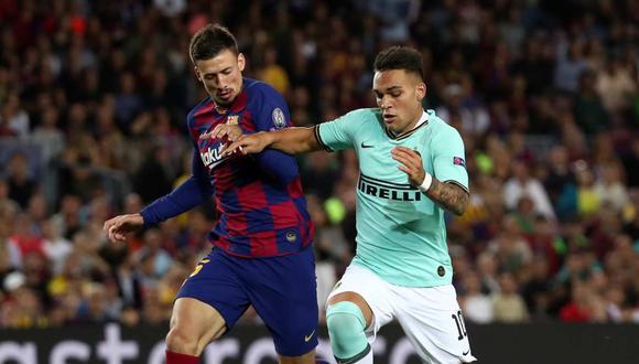 Barcelona todavía no ha descartado a Lautaro Martínez ni Memphis Depay. (Foto: Reuters)