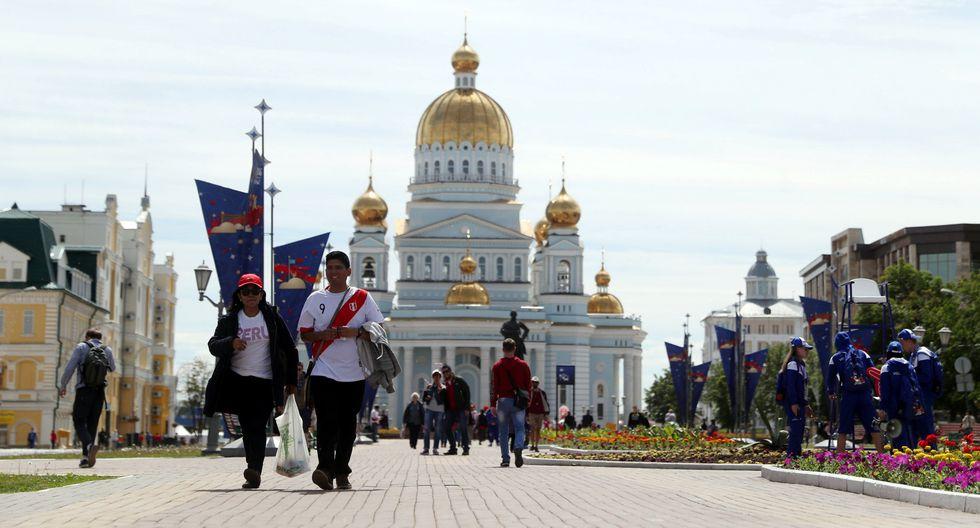 Una imagen del centro de Saransk, la coqueta capital de Mordovia ubicada en la cuenca del río Volga. (Foto: Reuters)