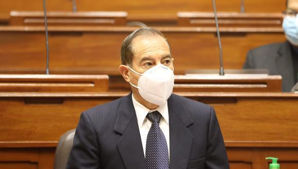 """Walter Martos aseguró que sus frases sobre las Fuerzas Armadas fueron """"malinterpretadas"""". (Foto: Congreso)"""
