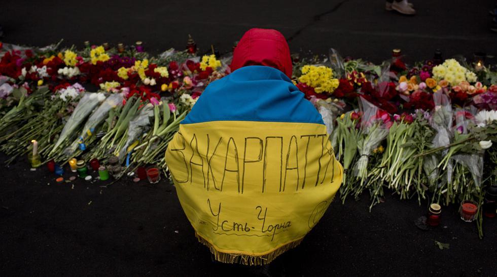 Ucrania no olvida a los caídos durante las protestas - 1