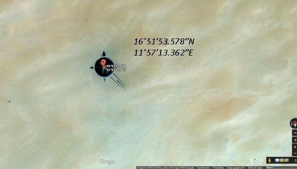 Descubre el misterio tras estas coordenadas en Google Maps