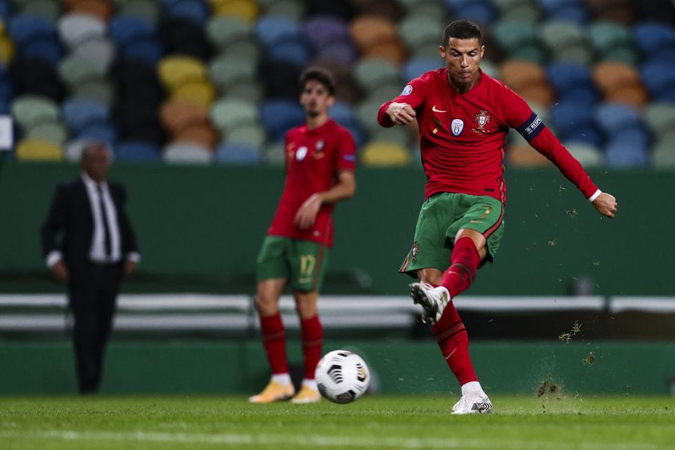 España y Portugal se enfrentaron en un duelo amistoso por la fecha FIFA. Ambas selecciones se preparan para jugar la Liga de Nacionales de la UEFA. (Foto: AFP)