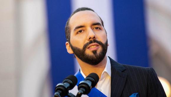El presidente de El Salvador Nayib Bukele. (AFP).