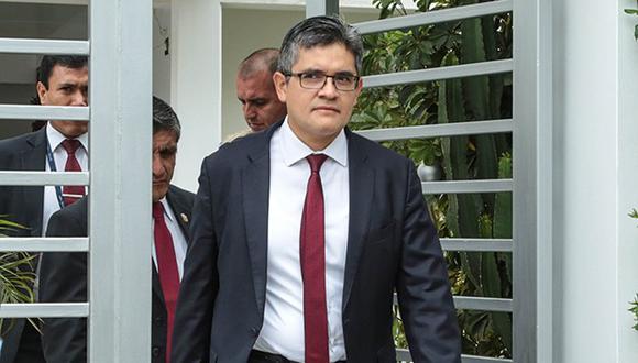 El fiscal José Domingo Pérez encabezó los allanamientos de los inmuebles vinculados a Gonzalo Monteverde. (Foto: GEC)