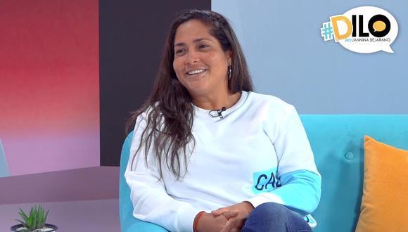 Katia Palma se confiesa en #Dilo con Jannina Bejarano