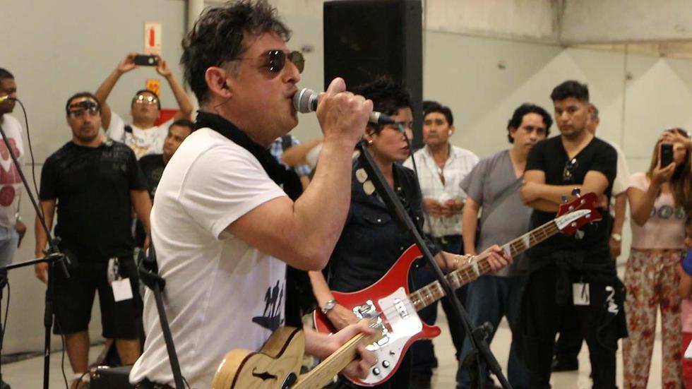 La Liga del Sueño dio concierto sorpresa en el Metropolitano - 1