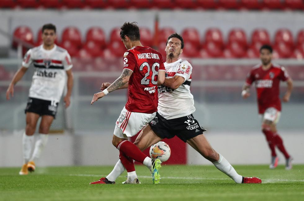 River Plate vs Sao Paulo - Copa Libertadores. (Foto: AFP)