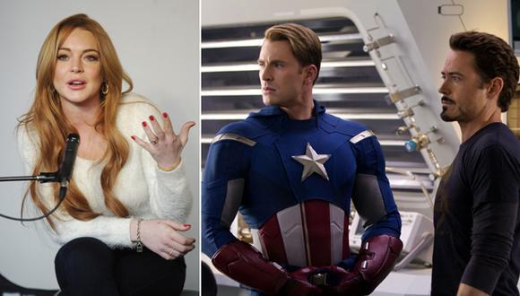 Lindsay Lohan reveló cómo quedó fuera de 'Los vengadores'