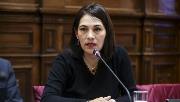 Milagros Salazar rechazó haberse excedido al gritarle al presidente Vizcarra en el Congreso. (Foto: GEC)