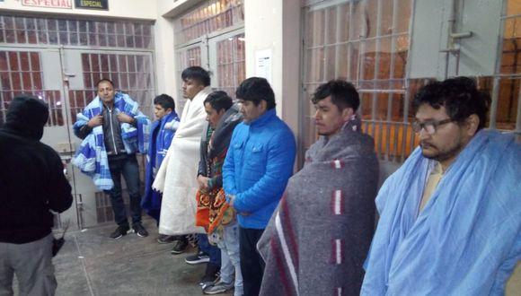 El Instituto Nacional Penitenciario informó que este grupo de presos realizaba extorsiones desde el penal de Áncash. (Foto: INPE)