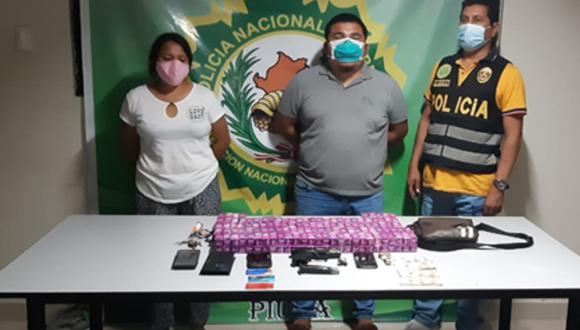 Piura: Detienen a una pareja con ivermectina de contrabando procedente de Ecuador.