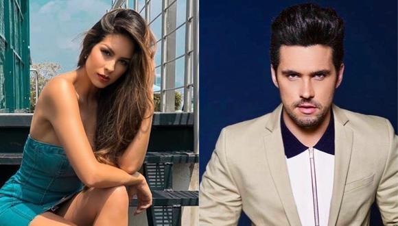 La modelo Vanessa López, expareja de Eleazar Gómez, recurrió a sus redes sociales para referirse al arresto del actor. (Foto: @eleazargomez333/@vanessalopezq)