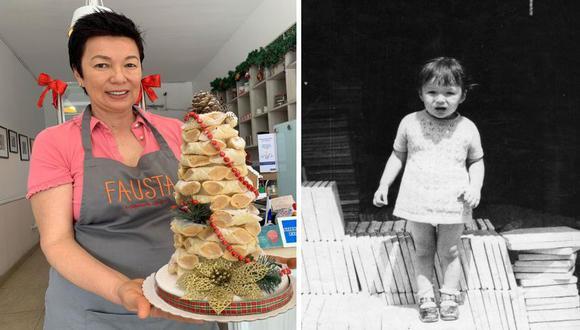 Una carta de Milagro Huamán a Mili, ella a los 10 años, la niña que quería tener su pastelería y cumplió el sueño con Fausta.