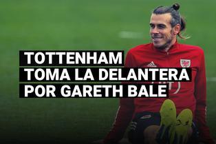Tottenham se adelanta a Manchester United por el fichaje de Gareth Bale