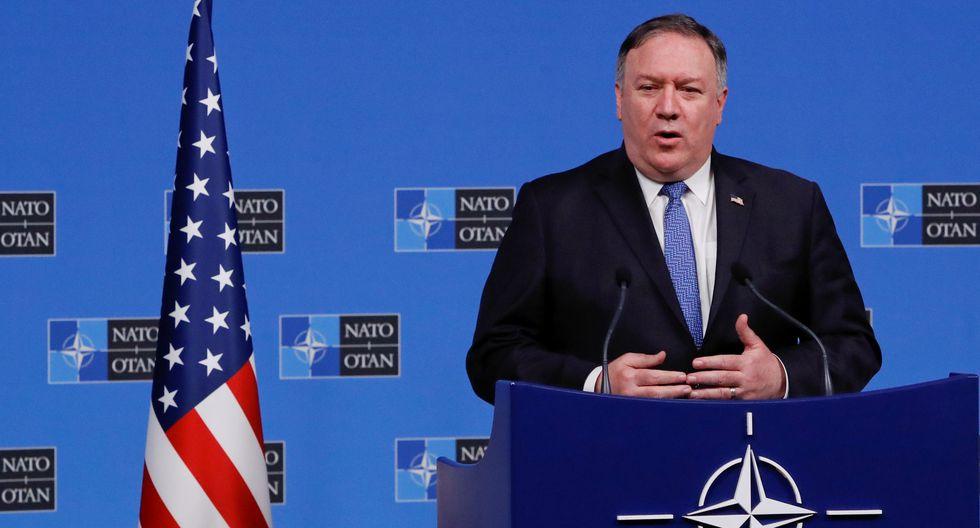Mike Pompeo anunció que Estados Unidos suspende sus obligaciones con pacto nuclear con Rusia. (Reuters).