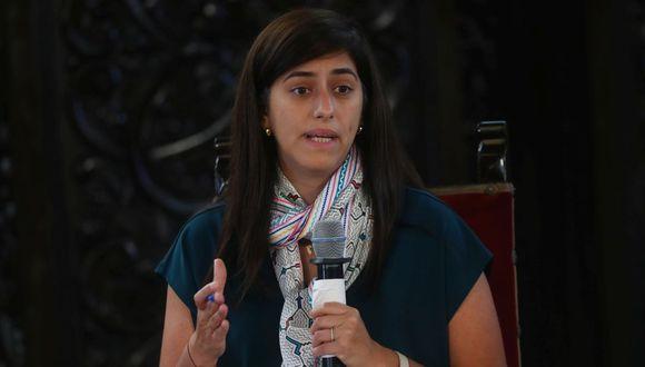 María Antonieta Alva, ministra de Economía y Finanzas. (Foto: Alessandro Currarino | GEC)