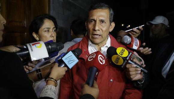 El ex presidente Ollanta Humala y su esposa Nadine Heredia cumplieron 9 de los 18 meses de prisión preventiva que ordenó el Poder Judicial. (Foto: Archivo El Comercio)