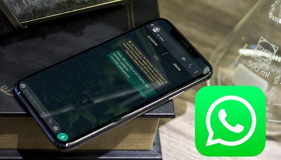 De esta manera podrás chatear contigo mismo en WhatsApp. Aprende este truco. (Foto: Mockup)