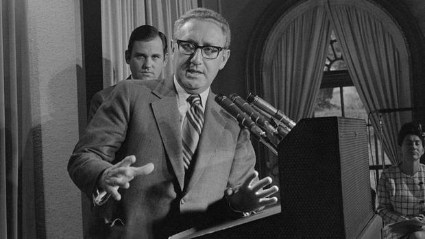 La visita secreta de Kissinger a China fue revelada poco después de su regreso, aunque muchos detalles permanecieron ocultos por décadas. (GETTY IMAGES)