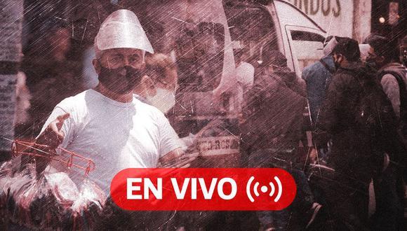 Coronavirus Perú EN VIVO | Últimas noticias, cifras oficiales del Minsa y datos sobre el avance de la pandemia en el país, HOY viernes 23 de octubre de 2020, día 222 del estado de emergencia por Covid-19. (Foto: Diseño El Comercio)