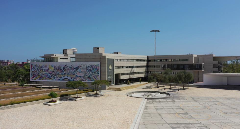Este el actual panorama en el campus universitario de San Marcos, ubicado en el Cercado de Lima: sin alumnos, docentes ni personal administrativo a la vista. Empiezan clases virtuales el 1 de junio. (Foto: UNMSM)