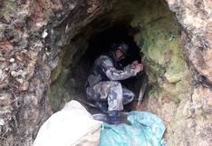 Militares destruyen minas ilegales en El Cenepa, en la frontera de Perú con Ecuador   FOTOS