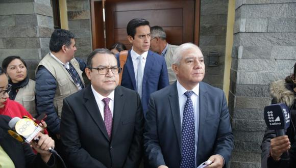Wilfredo Pedraza indicó que las pruebas deben ser incluidas en la carpeta fiscal de forma correcta. (Foto: GEC)