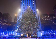 ¿Cuáles son las pautas para ver el árbol de Navidad del Rockefeller Center en Nueva York?