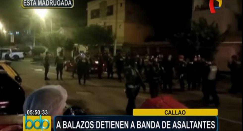 Callao: cayó banda que cometía robos al paso en La Perla