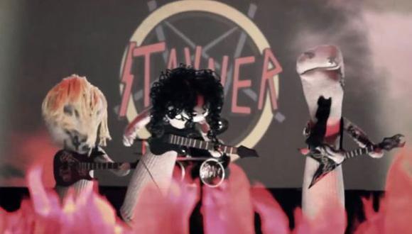 YouTube: las medias también pueden tocar heavy metal