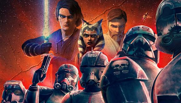 """""""Star Wars: The Bad Batch"""" se estrenará este 4 de mayo, con nuevos episodios cada semana. (Foto: Lucasfilm/Disney)"""