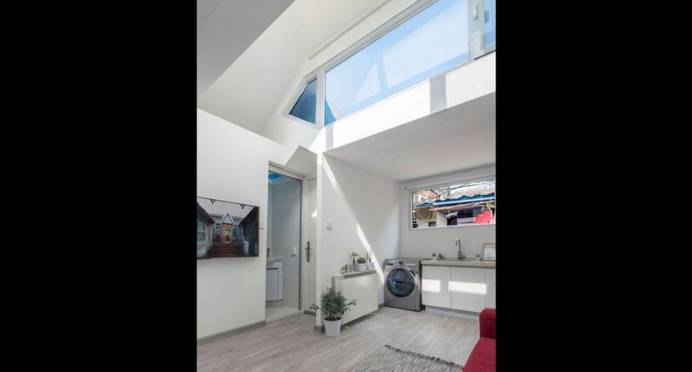 La casa de 27 metros cuadrados es una actualización de la antigua casa familiar de la señora Fan, la cual dio un giro hacia la modernidad. (Foto: People's Architecture Office)