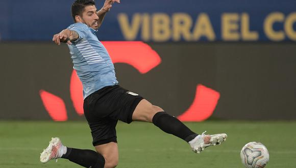 Uruguay choca ante Bolivia por la jornada 4 de la Copa América 2021 (Foto: AFP).