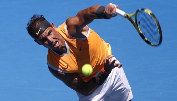 Rafael Nadal vs. James Duckworth EN VIVO vía ESPN: HOY por primera ronda del Australian Open | EN DIRECTO. (Foto: AFP)
