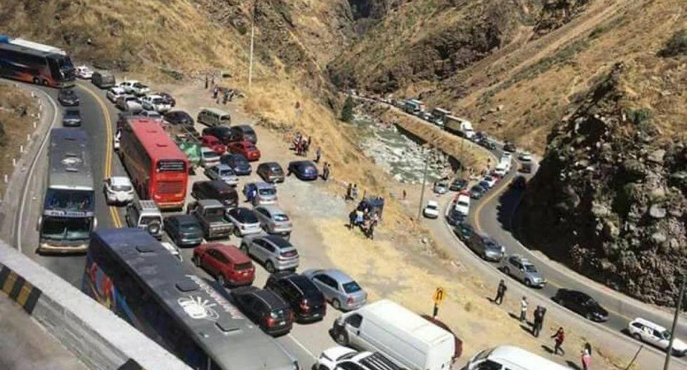 Tramo de la carretera Central será restringido por Semana Santa
