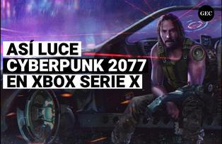 Así luciría Cyberpunk 2077 en la nueva Xbox Serie X