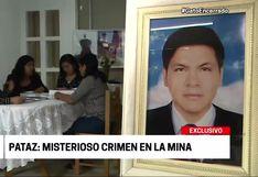 La Libertad: Fiscalía determinó que ingeniero de minas Luis Contreras fue asesinado