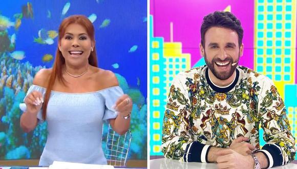 """Magaly Medina respondió a quienes la criticaron por no calificar de acoso lo sucedido en el programa """"JB en ATV"""" con Fátima Segovia. (Foto: Captura ATV / Instagram @rodgonzalezv)."""
