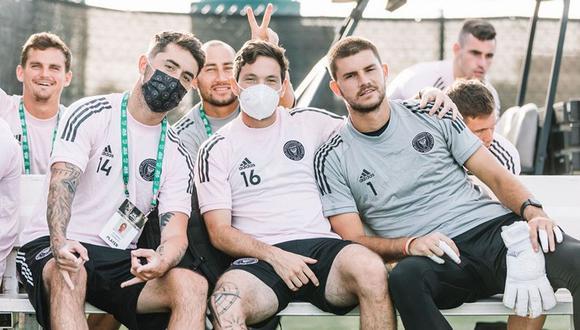 Jugadores del Inter Miami CF. (Foto: cortesía)